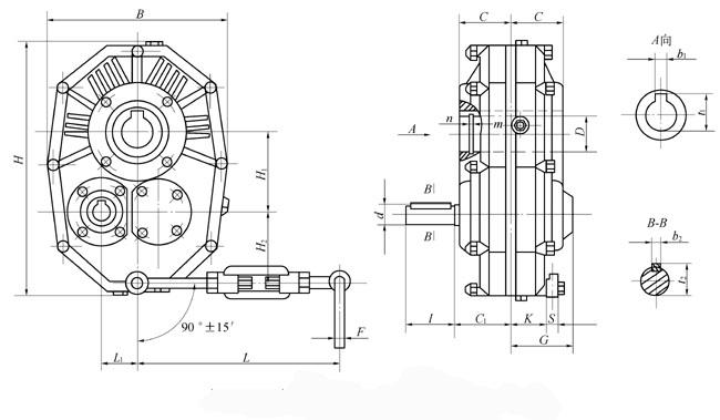 齿轮 圆柱齿轮减速器的装配图和零件图